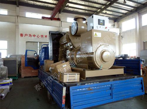 扬州市公安局500KW康明斯发电机组成功出厂 发货现场 第1张