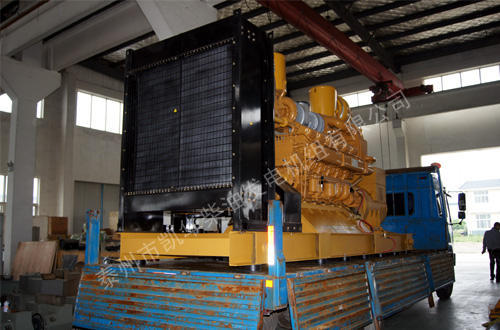 长沙800KW济柴柴油发电机组成功出厂 发货现场 第1张