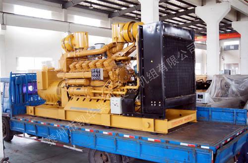 南通玻璃800KW济柴发电机组成功出厂 发货现场 第1张