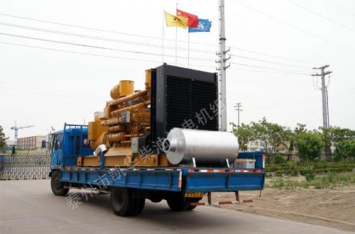 南通玻璃800KW济柴发电机组成功出厂 发货现场 第2张