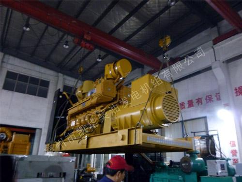 浙江纺织厂1000KW济柴发电机组成功出厂 发货现场 第1张