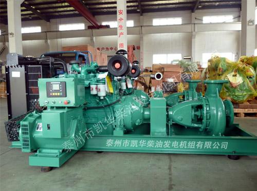 出口非洲的多台水泵发电两用机组成功出厂 发货现场 第2张