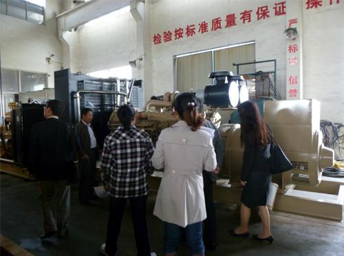 日本东京客户来我厂订购多台低噪音机组 公司新闻 第2张