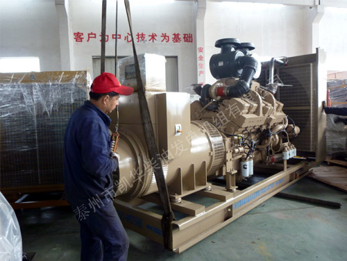 湖北水泥800KW康明斯发电机组成功出厂 发货现场 第1张