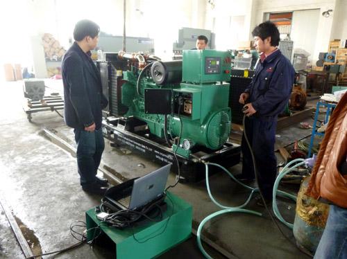 新型节能型燃气机组成功通过检测 公司新闻 第2张
