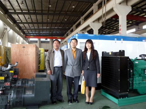 日本东京客户来我厂订购多台低噪音机组 公司新闻 第3张