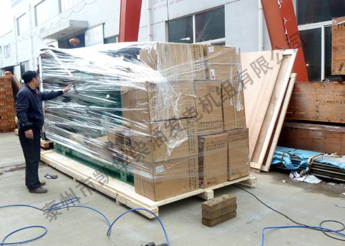 香港中铁500KW康明斯发电机组成功出厂 发货现场 第1张