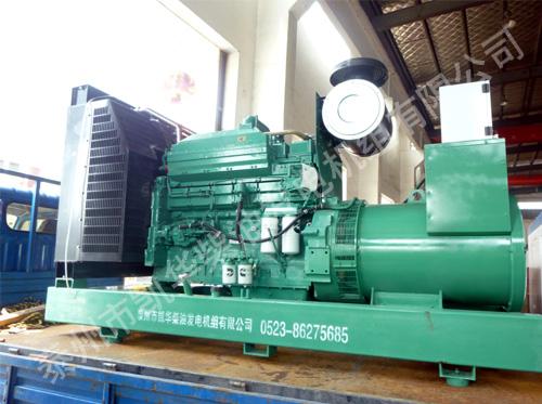 江苏文化中心400KW康明斯发电机组成功出厂 发货现场 第1张