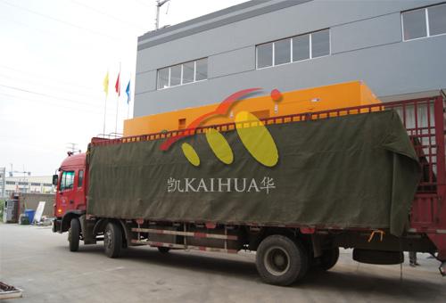 江苏水务多功能型发电机组成功出厂 发货现场 第2张