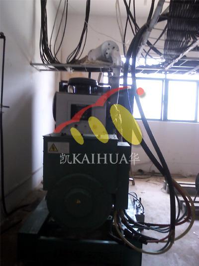 河南玻璃550KW康明斯发电机组成功交付