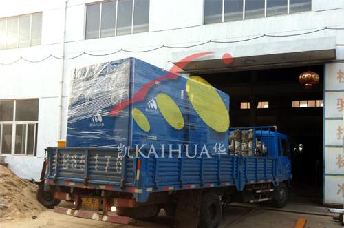 河南房产400KW低噪音发电机组成功出厂 发货现场 第1张