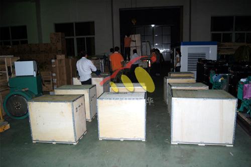 出口蒙古国的12台小功率发电机组成功出厂 发货现场 第2张