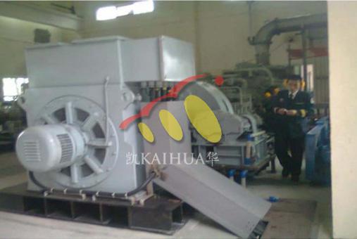 南海海军2000KW高压发电机组成功交付