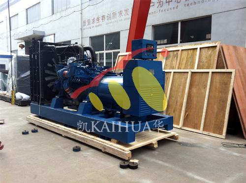 出口迪拜的800KW奔驰发电机组成功出厂