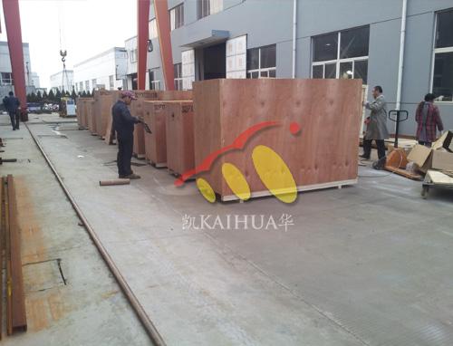 出口安哥拉的11台发电机组成功出厂 发货现场 第2张
