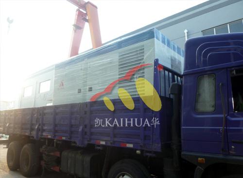 山西煤矿400KW防雨罩发电机组成功出厂 发货现场 第2张