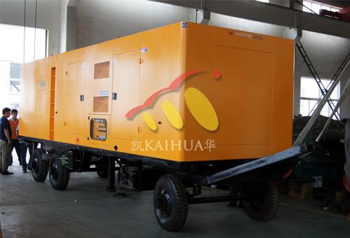 江苏水务多功能型发电机组成功出厂 发货现场 第1张