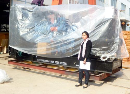 长沙煤矿800KW奔驰发电机组成功出厂 发货现场 第1张