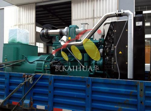 山西矿业500KW柴油发电机组成功出厂 发货现场 第1张