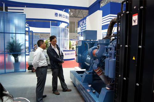 我公司参加中国(泰州)国际装备制造展现场 公司新闻 第2张