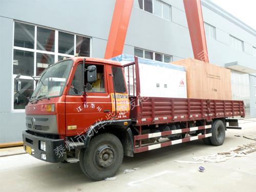 贵州酒业两台沃尔沃发电机组成功出厂 发货现场 第2张