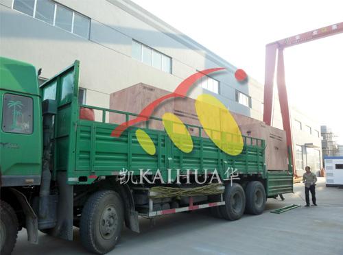 出口南非的三台康明斯发电机组成功出厂 发货现场 第3张