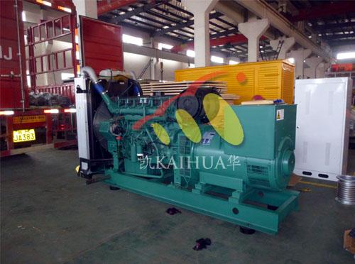 宁夏科技500KW沃尔沃发电机组成功出厂