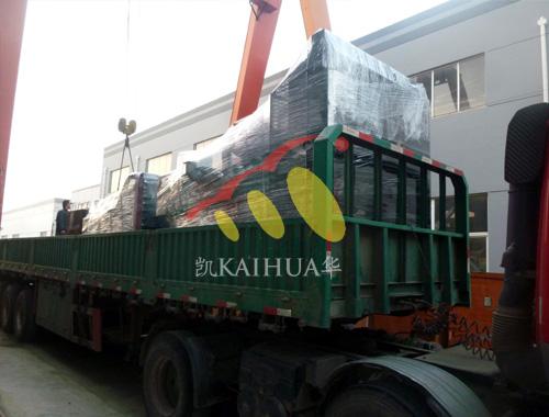 河北房产两台柴油发电机组成功出厂 发货现场 第2张