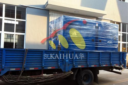 河南房产400KW低噪音发电机组成功出厂 发货现场 第2张
