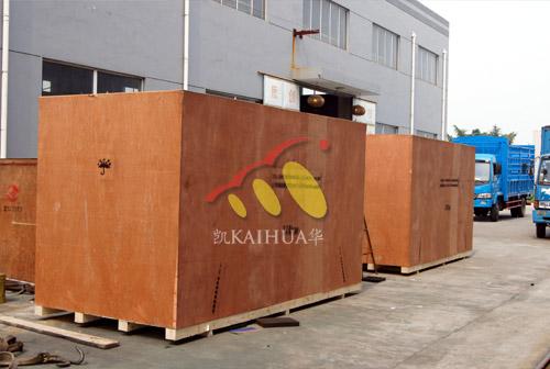 黑龙江机场两台400KW静音发电机组成功出厂 发货现场 第2张