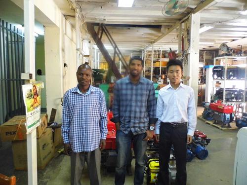 凯华外贸团队前往非洲与客户恰谈发电机组 公司新闻 第2张