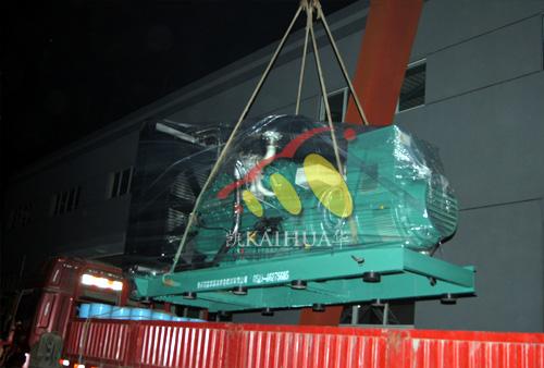 山东农业800KW无动柴油发电机组成功出厂 发货现场 第2张