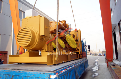 浙江食企700KW济柴发电机组成功出厂