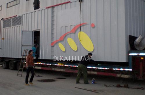 山西煤矿1500KW康明斯集装箱机组成功出厂 发货现场 第2张