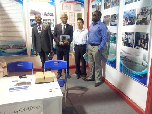 非洲客户参观访问凯华2013年非洲动力展现场 公司新闻 第1张