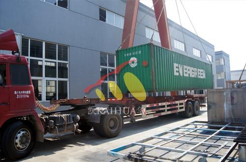 出口乌干达的9台珀金斯静音发电机组成功出厂 发货现场 第2张