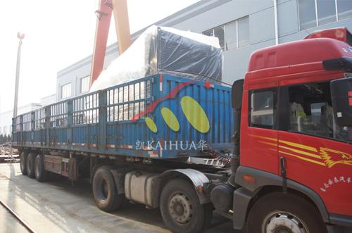 江西水泥800KW康明斯发电机组成功出厂 发货现场 第2张