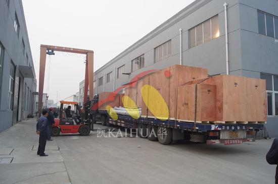 二十多台发电机组成功出厂发往马来西亚 发货现场 第2张