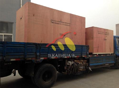 出口埃塞俄比亚的四台康明斯发电机组成功出厂 发货现场 第1张