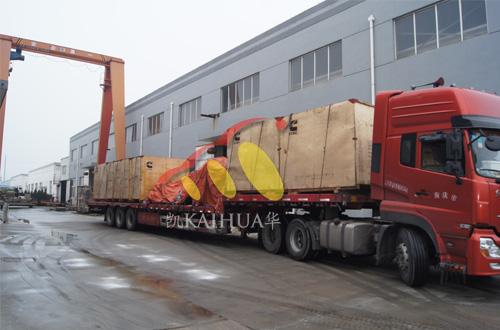 江苏船业8台船用康明斯机组发动机到达工厂 公司新闻 第1张