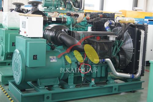 长庆油田500KW沃尔沃柴油发电机组成功出厂 发货现场 第1张
