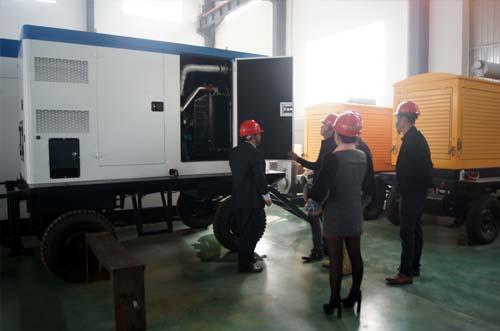 山西煤企领导来我公司考察采购高压发电机组 公司新闻 第2张