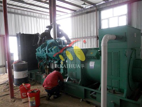 中煤集团1000KW高压康明斯发电机组成功交付