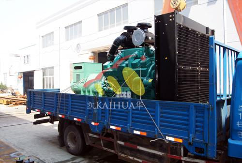 江苏钢铁800KW康明斯发电机组成功出厂 发货现场 第2张