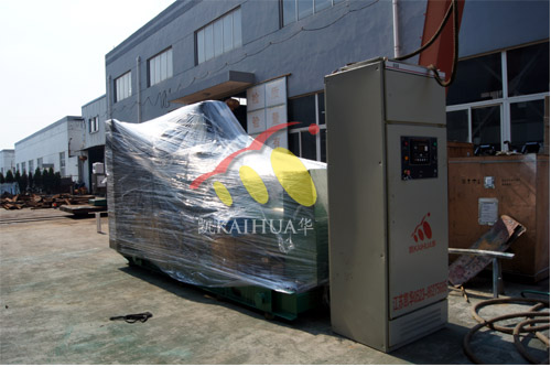 陕西银行600KW全自动康明斯发电机组成功出厂