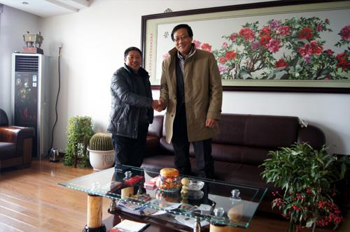 马来西亚客户来访我公司签订多台发电机组 公司新闻 第2张