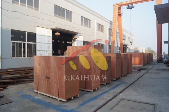 二十多台发电机组成功出厂发往马来西亚 发货现场 第1张