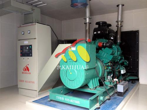 江苏有线600KW康明斯发电机组成功交付 国内案例