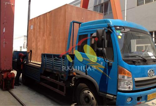 新疆油田500KW静音发电机组成功出厂 发货现场 第2张