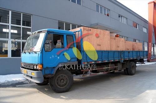 出口安哥拉的8台小功率发电机组成功出厂 发货现场 第3张